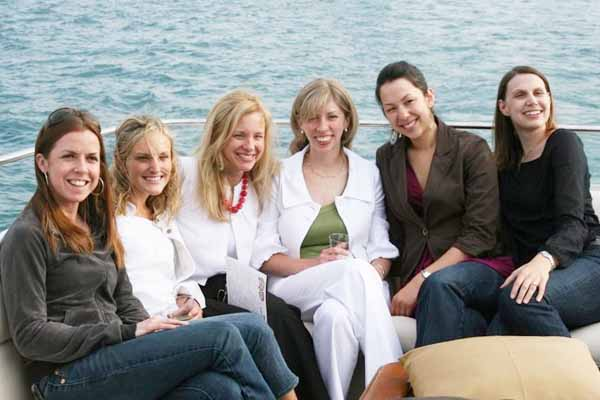 Chicago boat rentals for women
