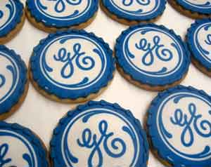 Corporate Logo Cookies GE