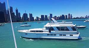 The sophisticated lady yacht lake michigan chicago